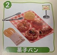 ぷちサンプルシリーズ 手作りパン屋さん 2.菓子パン 単品 食玩