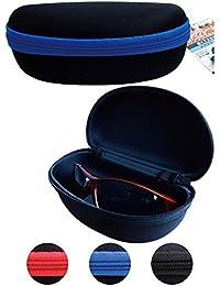 ビッグフレームサングラスも入る軽くて大きなメガネケース 29-604【まとめ買い12個セット】
