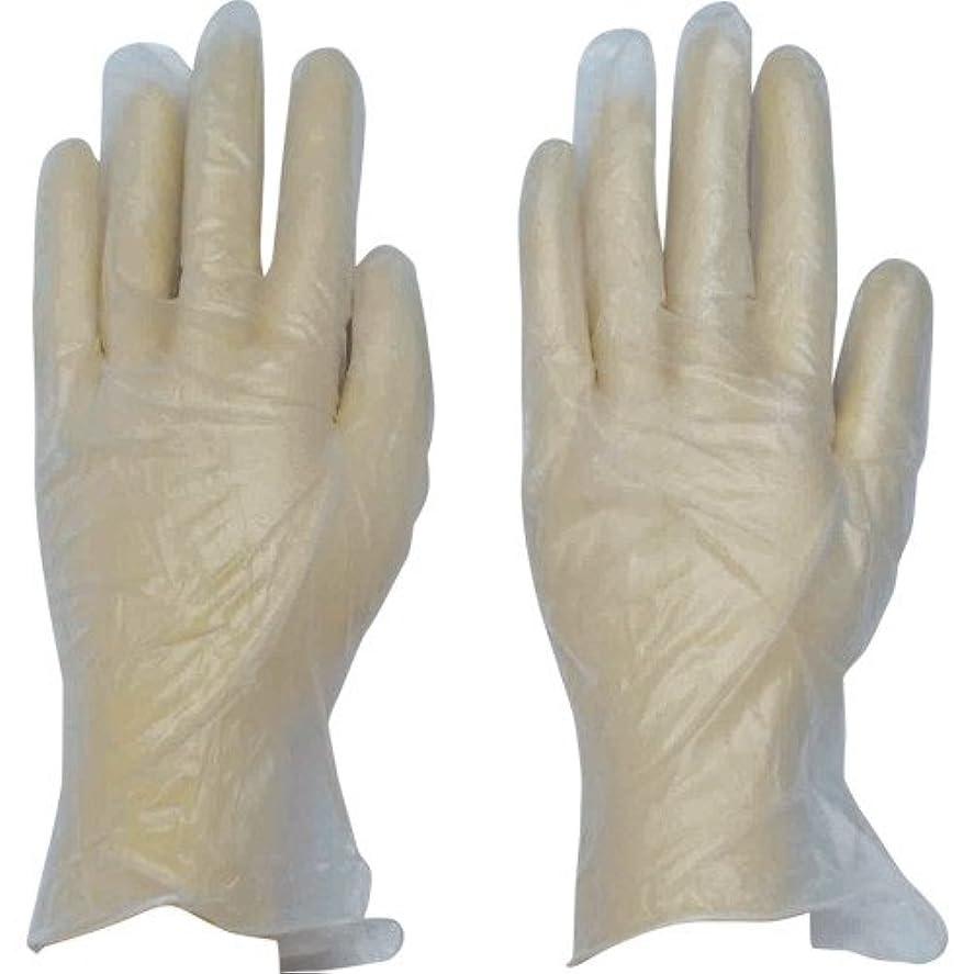 匿名裁判官検出器ダンロップ ホームプロダクツ ビニール手袋 極薄 パウダータイプ 半透明 L ぴったりフィット  100枚入
