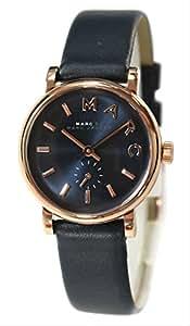 [マークバイマークジェイコブス] MARC BY MARC JACOBS 腕時計 レディース Baker mini (ベイカー ミニ) ブラックブルー レザーベルト MBM1331 [並行輸入品]
