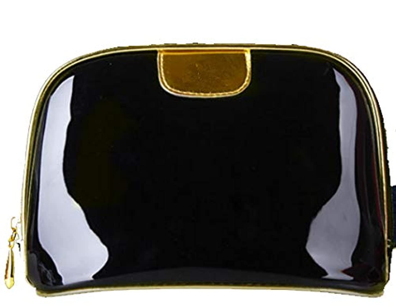 に関して音指標SuperTang 化粧ポーチ コスメポーチ メイクポーチ 大容量 化粧品収納 ミニ 財布 小物入れ 普段使い 出張 旅行 メイク ブラシ バッグ 化粧バッグ バニティポーチ 機能的 ブラック