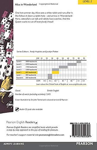 『Penguin Readers: Level 2 ALICE IN WONDERLAND (Penguin Readers, Level 2)』の1枚目の画像