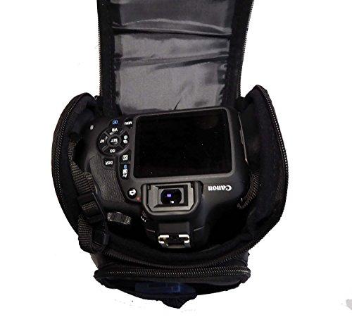 『V91 *Camshot* カメラパーツ 防水ショルダーカメラバッグ キヤノン Canon EOS Kiss F X80 X70 X50 X9i X8i X7 X7i X6i X5 X4 X3 X2 7 Digital N X に適用です カメラバッグ 一眼レフ おしゃれ カメラケース ショルダーバッグ カメラ』の2枚目の画像