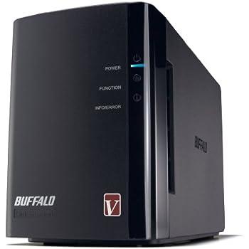 BUFFALO RAID1対応 高速モデル NAS(ネットワークHDD) 【iPhone5対応(WebAccess i)】 2ドライブモデル 4TB LS-WV4.0TL/R1J