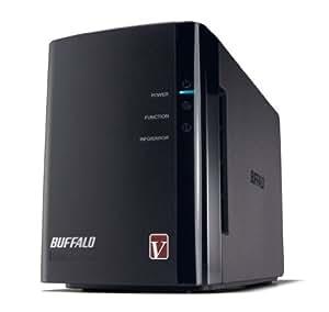 BUFFALO RAID1対応 高速モデル NAS(ネットワークHDD) 【iPhone5対応(WebAccess i)】 2ドライブモデル 2TB LS-WV2.0TL/R1J