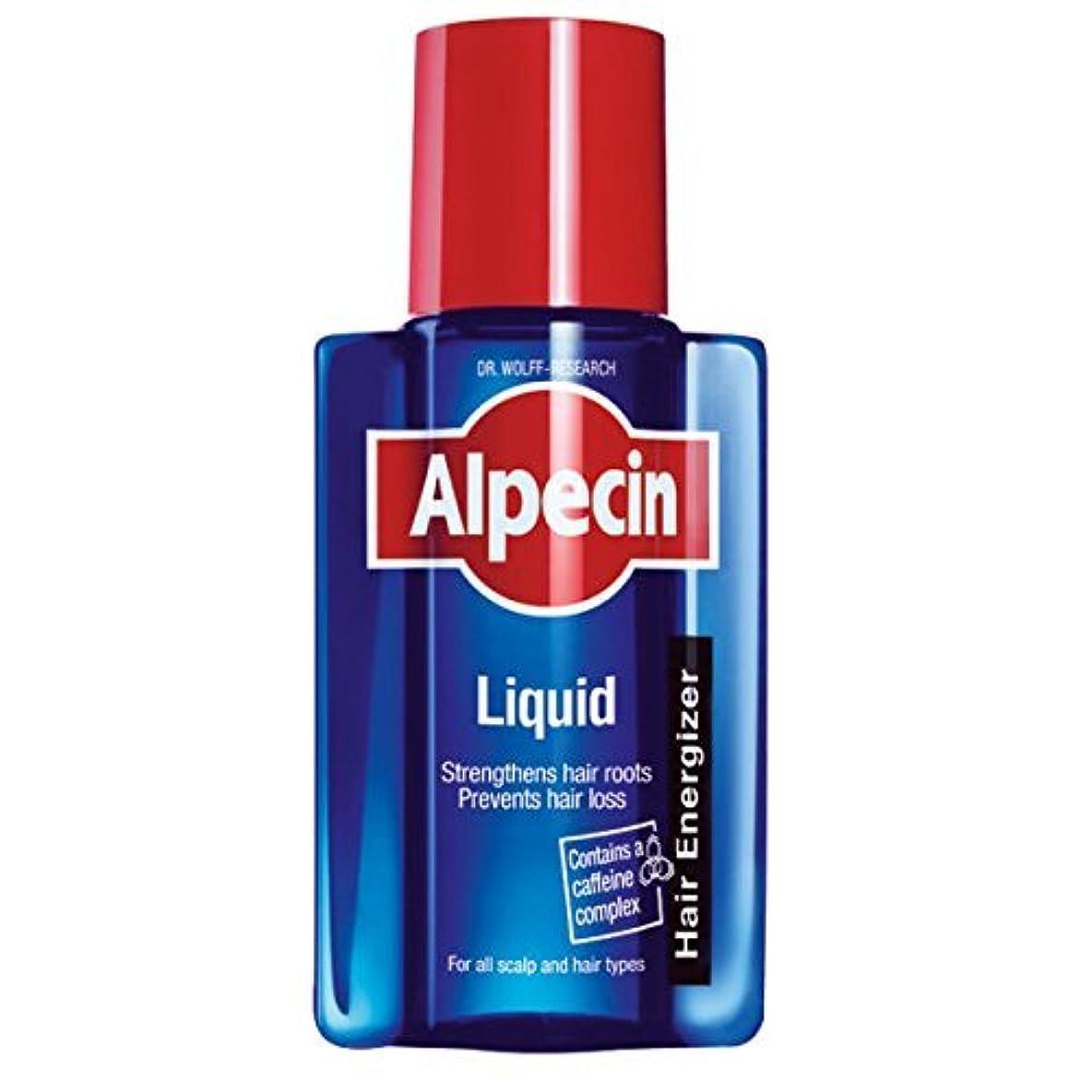 コショウ代数的変更ALPECIN 200ミリリットルの液体カフェインの戦闘遺伝性脱毛