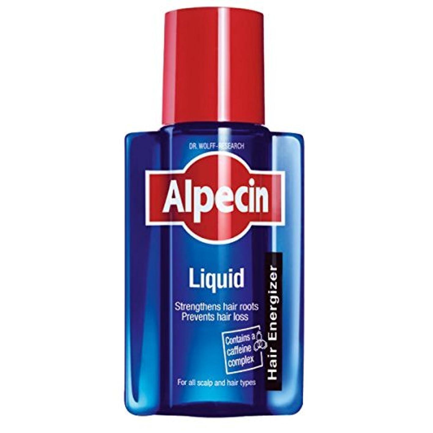 接ぎ木リットル平凡ALPECIN 200ミリリットルの液体カフェインの戦闘遺伝性脱毛