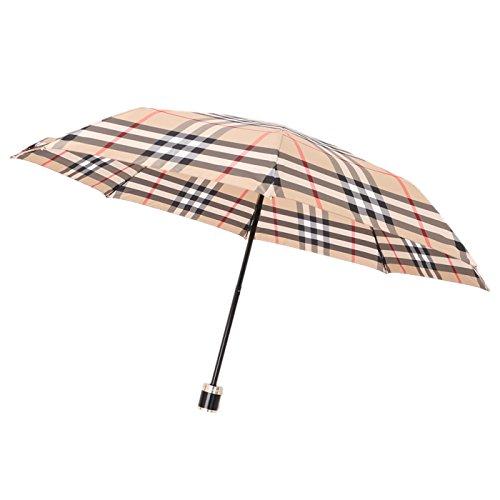 折り畳み傘 チェックアンブレラ 102cm , [長さ]45cm , [持ち手]5cm バーバリー y-000640 BURBERRY キャメル系 メンズ... [並行輸入品]