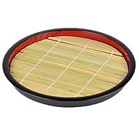 パール金属 ざる そば 皿 丸型 竹 すのこ付 匠庵 日本製 H-5281