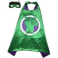 Marvel Comicsコスチューム – Hulk FistロゴCape and Mask withギフトボックスbyスーパーヒーロー