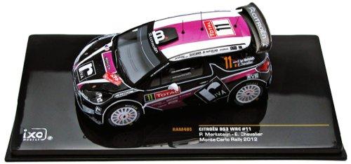 ★【イクソモデル】(1/43)シトロエン DS3 WRC 12 ラリー モンテカルロ #11 P.Merksteijn/E.Che(RAM485)
