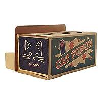 クリエイティブ猫のおもちゃハムスターペットのおもちゃパンダのおもちゃカートンおかしい猫のおもちゃ段ボール紙ペットのおもちゃ - ブラウン