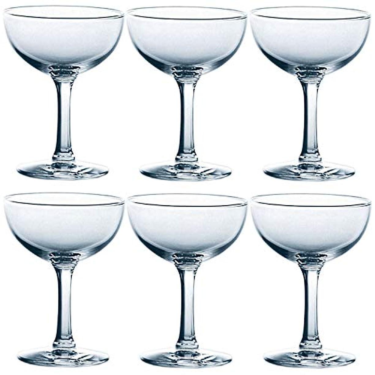敏感な限りなくたとえ東洋佐々木ガラス シャンパングラス 125ml 310ライン 日本製 食洗機対応 31034 6個セット