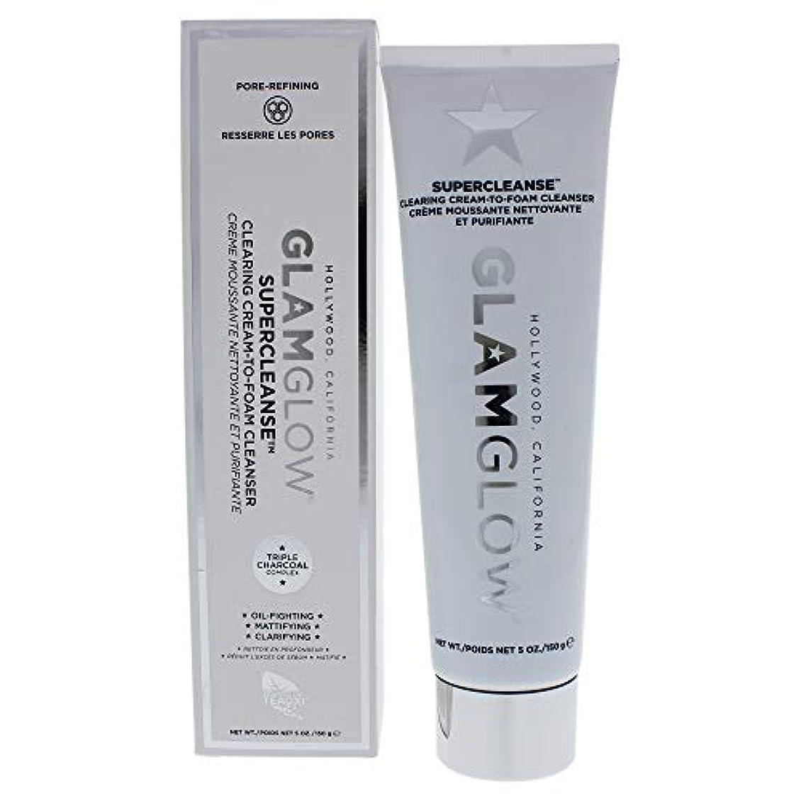 部屋を掃除する愚かな枝グラムグロー Supercleanse Clearing Cream-To-Foam Cleanser 150g/5oz並行輸入品