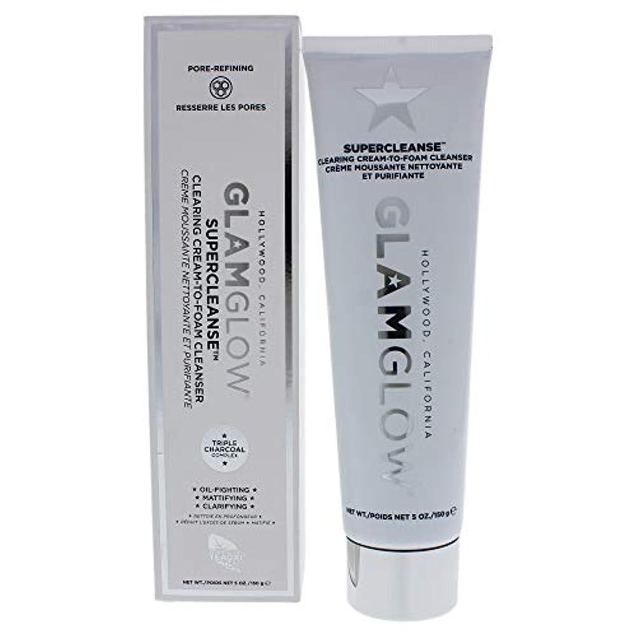 古くなったリフト有毒グラムグロー Supercleanse Clearing Cream-To-Foam Cleanser 150g/5oz並行輸入品