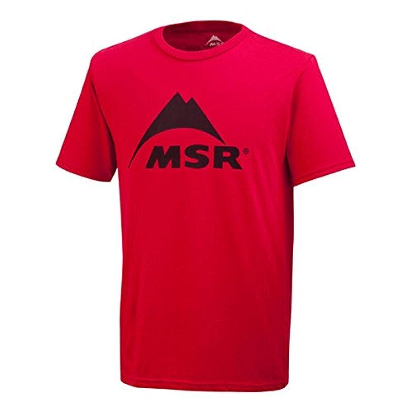率直な出版寛容(エムエスアール)MSR Spark T-Shirt レッド 51143