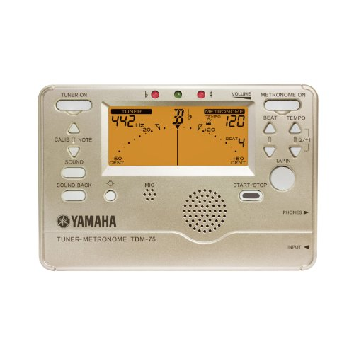 YAMAHA チューナー/メトロノーム TDM-75