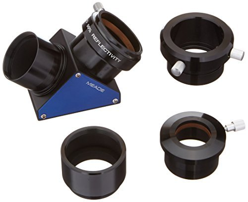 Meade Instruments 07680 Series 5000 2-Inch Enhanced Dielectric Diagonal Mirror with Schmidt-Cassegrain Adapter (Black) [並行輸入品]