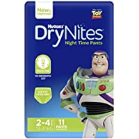 Huggies DryNites Pyjama Pants, Boys, Size 2-4 Years (11 Pack)