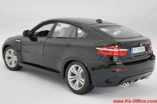 【BMW】X6M(ブラック) 1/18モデルカー(ミニカー)
