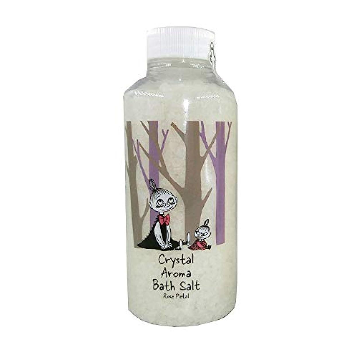 クラフトすぐに蓄積する【ムーミン】アロマバスソルト ローズペタルの香り リトルミイ