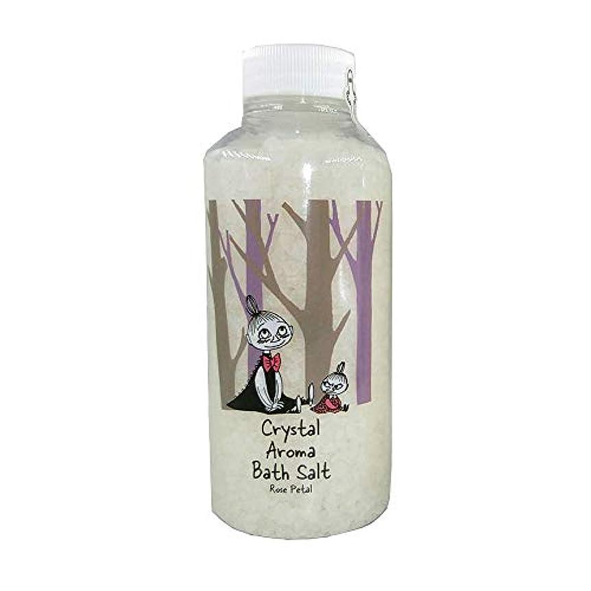 階下忘れられない振り向く【ムーミン】アロマバスソルト ローズペタルの香り リトルミイ