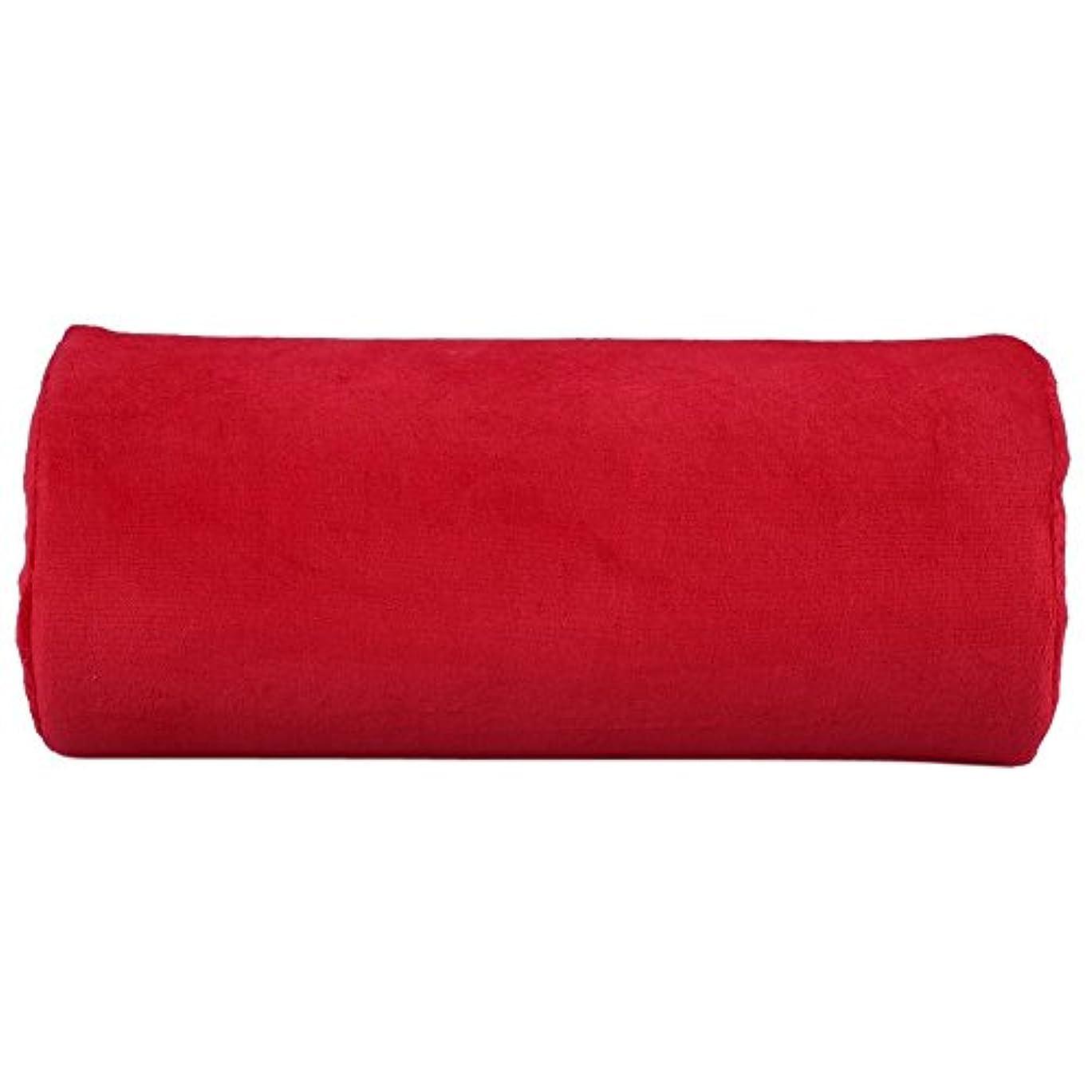 チャネルハブ購入サロンハンドレストクッション、ネイルアートソフトピロー(赤), パーソナルハンドレストクッションネイルアートぬいぐるみ枕取り外し可能なマニキュアメイクツールレッド