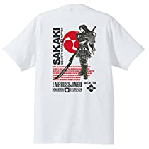 (サカキ) SAKAKI 神功皇后Tシャツ (L, ホワイト)