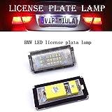 LEDナンバープレートライト - 2個LEDナンバープレートライトはBMW E46 4D(98-03)に適用されます。