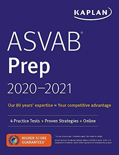 ASVAB Prep 2020-2021: 4 Practice Tests + Proven Strategies + Online (Kaplan Test Prep) (English Edition)