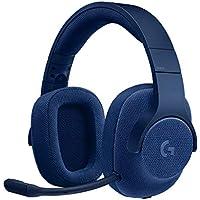 Logicool G ゲーミングヘッドセット G433BL ブルー Dolby 7.1ch ノイズキ…