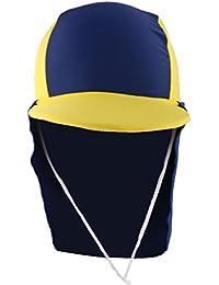 Dovewill 全10種類 通気性 キッズ 子供 UV プロテクション ビーチ サン ハット ネック イヤー カバー フラップ キャップ 帽子
