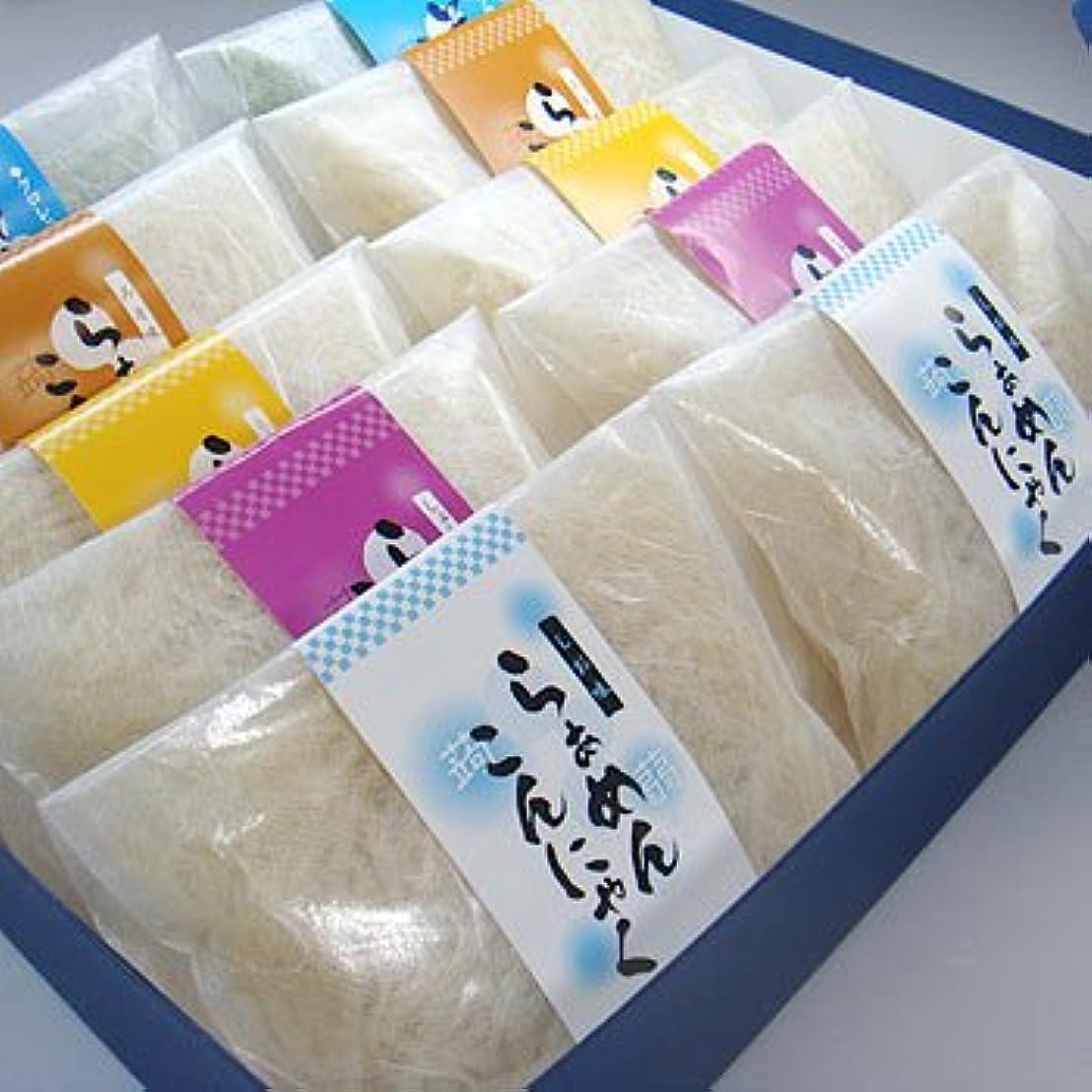 宿しっとり受け入れるギフト箱入こんにゃくラーメン10食セット【お中元】【ギフト】【ダイエット】【蒟蒻麺】