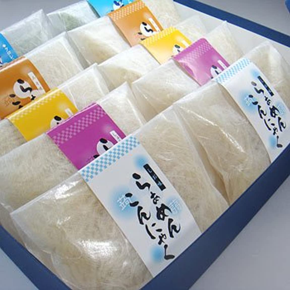燃料松の木量ギフト箱入こんにゃくラーメン10食セット【お中元】【ギフト】【ダイエット】【蒟蒻麺】