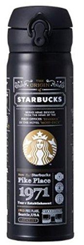 海外限定 スタバ ストーリーブラックタンブラー 保温保冷ボトル Starbucks JNL Stor...