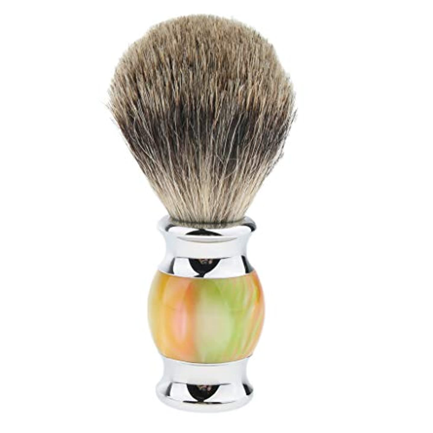 私たちのもの休日ジャムシェービングブラシ メンズ 髭剃り ひげ剃り ひげそり 美容 理容 多色選べ - 01