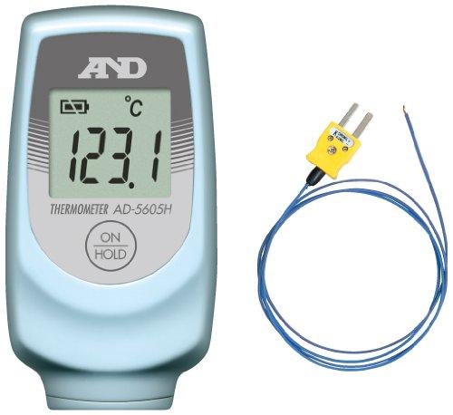 A&D Kタイプ 熱電対温度計 AD-5605H