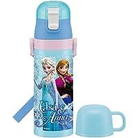 スケーター 超軽量 2WAY ステンレスボトル 水筒 コップ付き 470ml 保温 保冷 アナと雪の女王 16 ディズニー SKDC4