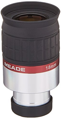 Meade Instruments 07734 Series 5000 1.25-Inch HD-60 18-Millimeter Eyepiece (Black) [並行輸入品]
