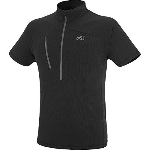 (ミレー) Millet Elevation Zip Short-Sleeve Shirt メンズ ジャケットBlack/Noir [並行輸入品]