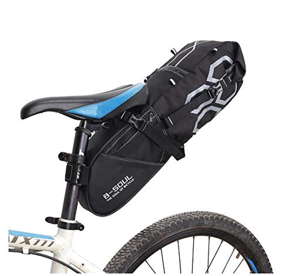 付けるグリル成果自転車サドルバッグ 大容量 リアバッグ 12Lの大容量!ロングライドに最適?