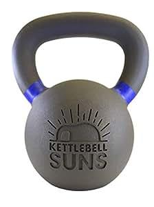 ケトルべル・サンズ(Kettlebell Suns) 4,6,8,10,12,14,16,20,24,28,32kg [滑らかで手のひらに優しくなじむフィット感] (12kg)