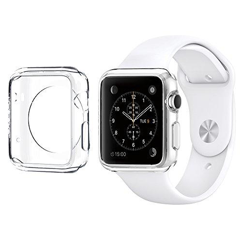 Apple Watch ケース, Spigen® アップル ウォッチ Apple Watch (38mm) リキッド・クリスタル 【国内正規品】 (2015) (クリスタル・クリア 【SGP11484】)
