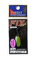 フォレスト(FOREST) スプーン フィックス マッチ 1.3g グラスオリーブ #11 ルアー