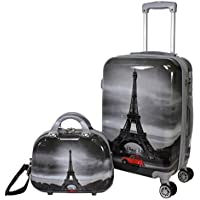 World Traveler Destination Collection 2-Piece Carry-On Luggage Set