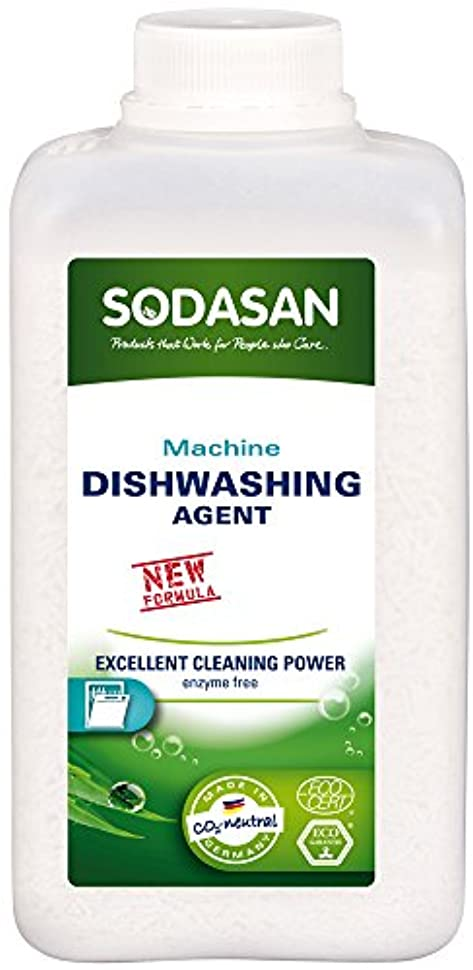 恋人バンドル扱うソーダサン SODASAN 食洗機用洗剤  オーガニック 無香料 ディッシュウォッシャー 1kg