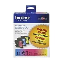 Brotherインクカートリッジlc613pks–カラーOEM 3pk ( lc61C + lc61m + lc61y ) * 1