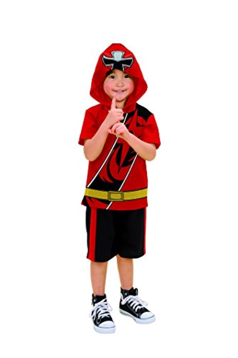 動勇気野ウサギ手裏剣戦隊ニンニンジャー 変身スーツ キッズコスチューム 男の子 120cm