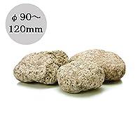 ゴロタ石 砂利 日本 天然石 錆ゴロタ 20kg/袋 直径90~120mm内外