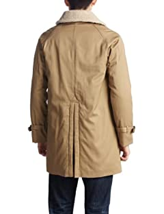 Boa Cotton Gabardine Coat 1225-174-6351: Beige
